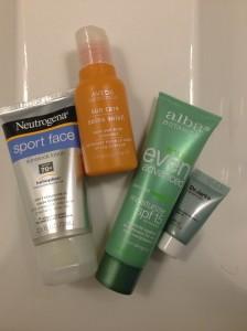 The winter skin protection regimen.