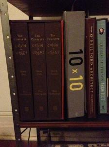 The Eames shelf of honor.