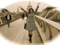 This is me, very happy, with St. Paul's behind me.