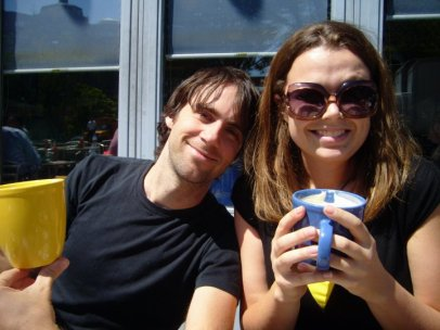Ah the carefree days of dating...before the harsh realities of marriage. (Not really...this is still what we look like.)