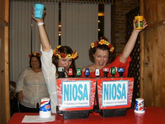 Liz and Bekah NIOSA