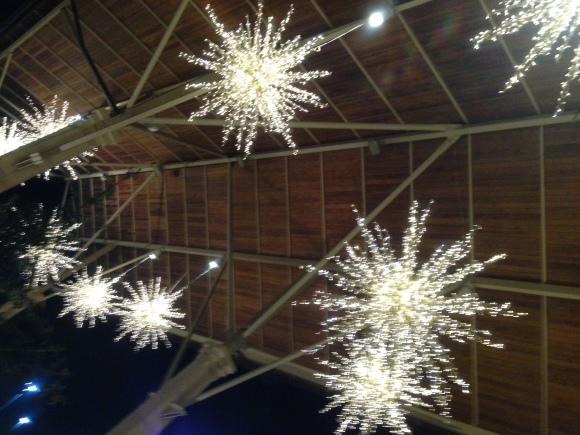 The lights of La Cantera