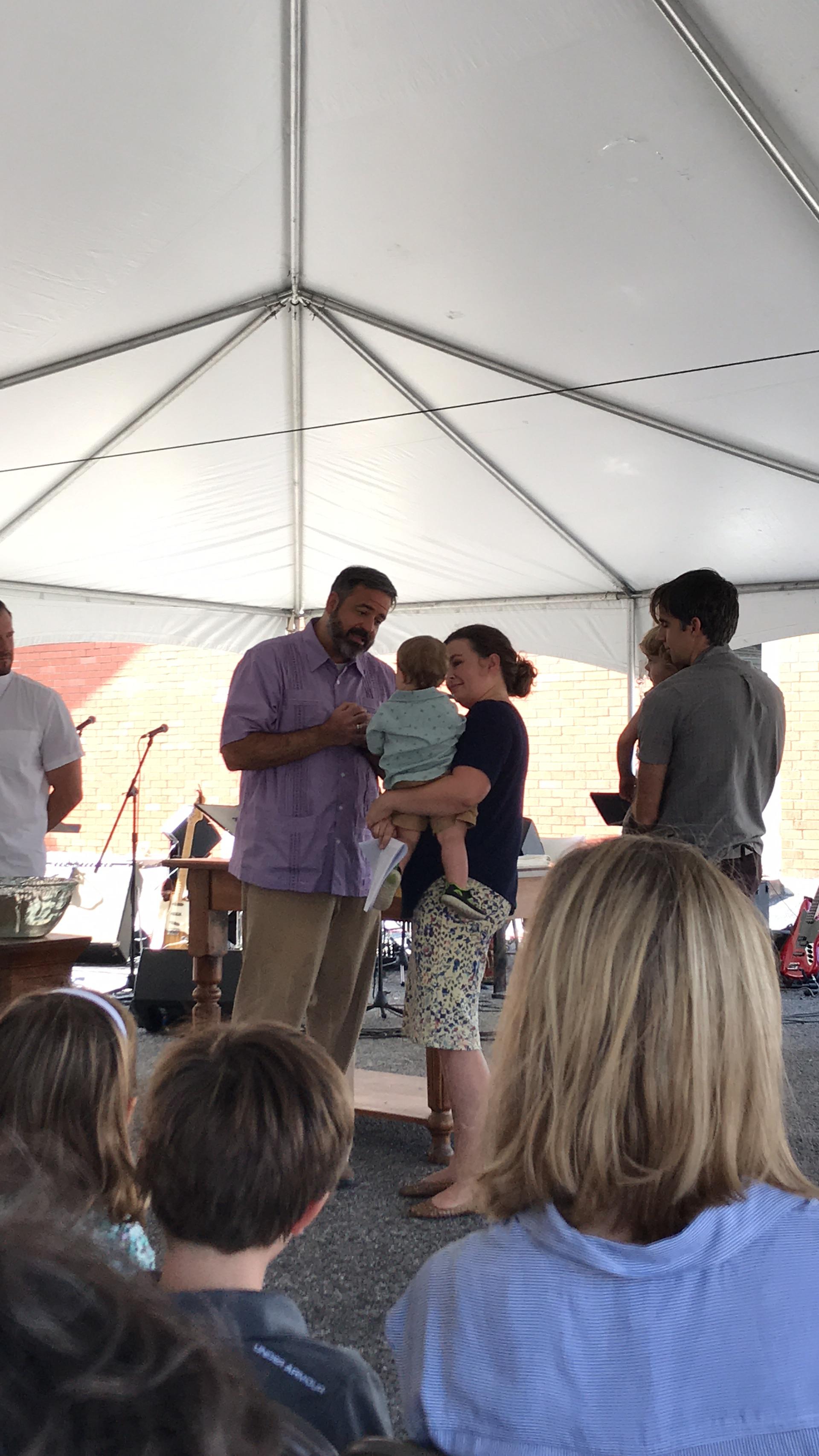 Asa Baptism